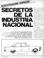 Secretos de la Industria nacional