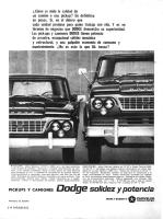Dodge Pick-Up y Camión